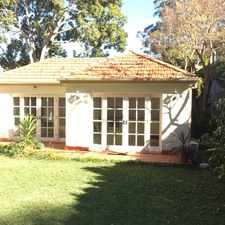 Rental info for Garden Cottage in quiet and leafy part of Killara in the Gordon area