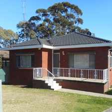 Rental info for Great location in the Wollongong area