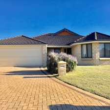 Rental info for LARGE FAMILY HOME!! in the Southern River area
