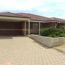 Rental info for FAMILY HOME WITH POOL! in the Perth area