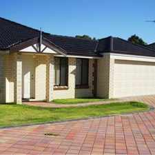Rental info for Modern unit in a quiet complex in the Australind area