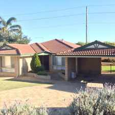 Rental info for PERFECT FAMILY HOME FRESHLY PAINTED THROUGHOUT in the Currambine area