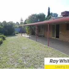 "Rental info for ""Great Entertaining With Large Back Yard"" in the Perth area"
