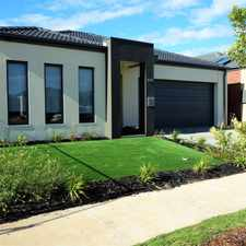 Rental info for Luxurious Four Bedroom Family Home in the Tarneit area