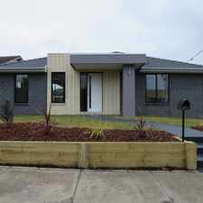 Rental info for SINGLE LEVEL LIVING WITH OWN STREET FRONTAGE in the Melbourne area