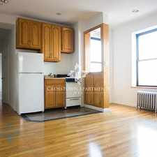 Rental info for 2nd Ave & E 6th St in the Bowery area