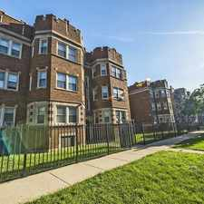 Rental info for 7109-15 S Ridgeland Ave in the Chicago area