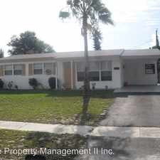 Rental info for 3602 EVERGLADES RD
