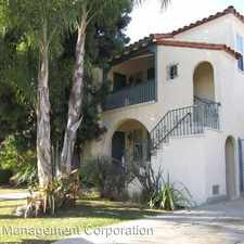 Rental info for 1521 & 1523 S Crest Dr in the Los Angeles area