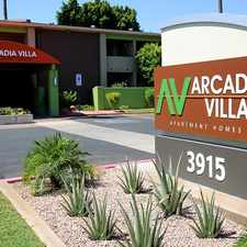 Rental info for Arcadia Villa Apartments in the Phoenix area