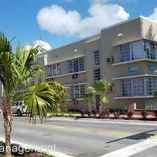 Rental info for 701/705/709 11th St in the Miami Beach area