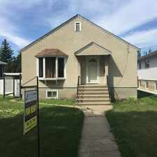 Rental info for 11310 102 Street in the Spruce Avenue area