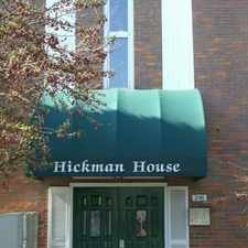 Rental info for Hickman House Apartments in the Upper St. Clair area