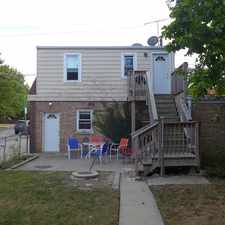 Rental info for 7401 W. Addison Ave. - Coach House 1st floor in the Belmont Heights area