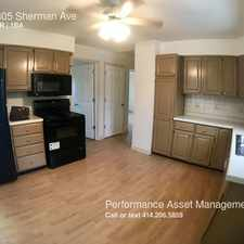 Rental info for 1305 Sherman Ave in the South Milwaukee area