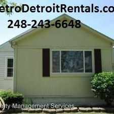 Rental info for 3892 18th