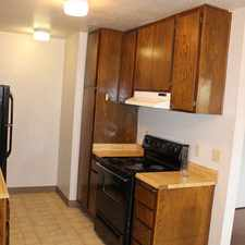 Rental info for Spacious One Bedroom Apartment With Dual Pane W...
