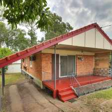 Rental info for FRESHLY RENOVATED HOME WITH POWERED DOUBLE SHED in the Acacia Ridge area