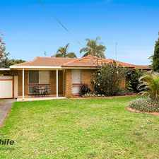 Rental info for Perfectly positioned 3 bedroom brick home! in the Lake Illawarra area