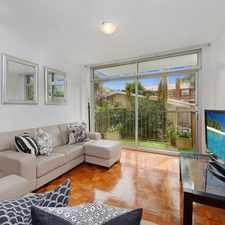 Rental info for DEPOSIT TAKEN, INSPECTIONS CANCELLED!! Sun filled and ideally located 2 bedroom with Parking! in the Woollahra area