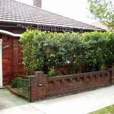 Rental info for Two bedroom semi in Petersham