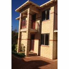 Rental info for SILVER SANDS SANCTUARY TOWNHOUSE WITH SIDE ACCESS! in the Perth area