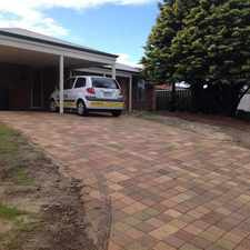 Rental info for Seclusion and Convenience in Maddington