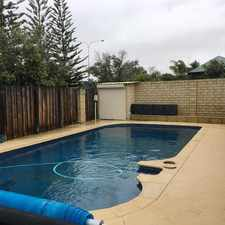 Rental info for Spacious 5x2, Pool, Solar Panels in the Mindarie area