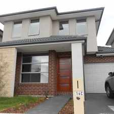 Rental info for BRAND NEW FOUR BEDROOMS TOWNHOUSE & LARGE LIVING SPACE