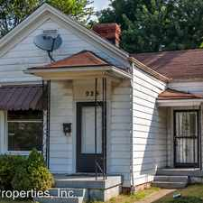 Rental info for 925 Euclid Ave. in the Louisville-Jefferson area