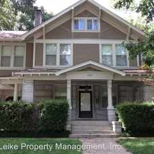 Rental info for 1441 Peabody Ave in the Central Gardens area