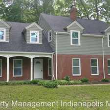 Rental info for 6093 N. Michigan Rd in the Crooked Creek area