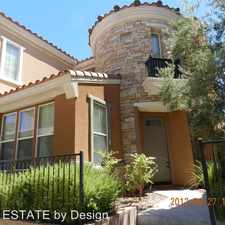 Rental info for 2358 Malaga Peak St in the Summerlin South area