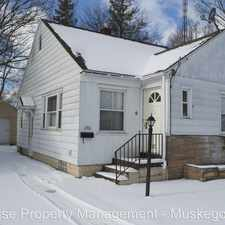 Rental info for 1961 Wood Street in the Muskegon area
