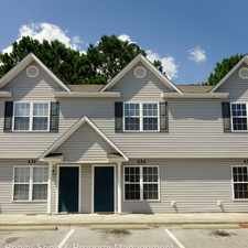 Rental info for 133 Cornerstone Place in the 28543 area