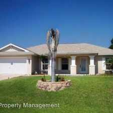 Rental info for 1117 Cabrillo Ave in the Lehigh Acres area