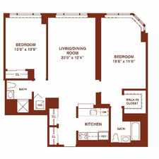 Rental info for $8760 2 bedroom Apartment in Jersey City in the Jersey City area