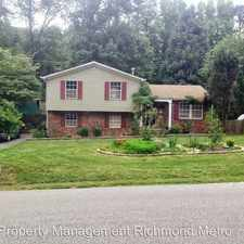 Rental info for 209 Rosegill Rd