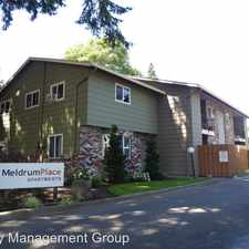 Rental info for 5137 SE Meldrum Avenue in the West Linn area