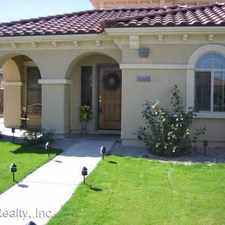 Rental info for 863 E Waterview Place