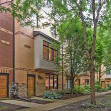 Rental info for JUST LISTED! OAK PARK WALK TO TRAIN/SHOPPING ~4 STORY TOWNHOME! DREAM KITCHEN!