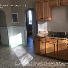 Rental info for 158 Regent Avenue in the Providence area