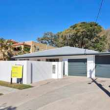 Rental info for 4 BEDROOM FAMILY HOME WITH DETACHED RENOVATED GRANNY FLAT IN ISLE CAPRI in the Gold Coast area