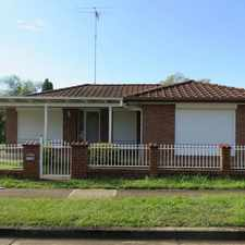 Rental info for BEAUTIFUL AND MODERN in the Blacktown area