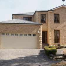 Rental info for LOW MAINTENANCE LARGE FAMILY HOME in the Rouse Hill area
