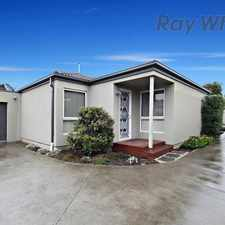 Rental info for Neat as Pin - Great Location in the Melbourne area