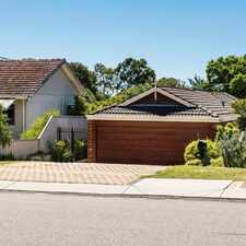 Rental info for SPACIOUS 3 BEDROOM 2 BATHROOM HOME in the Perth area