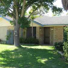 Rental info for A must see great family home with large front and rear gardens and extra bonus 6m by 9m Powered Shed
