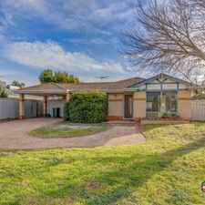 Rental info for SPACIOUS FAMILY HOME in the Seville Grove area