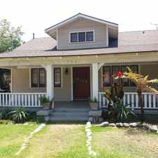 Rental info for 490 MacDonald St in the Pasadena area